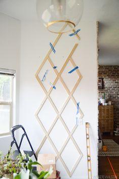 Diy An Indoor Trellis For Climbing Vines Plants Wall 400 x 300