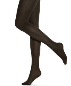 Hue Opaque Tights - Brown