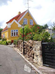 Felsengarten in Gudhjem, Bornholm