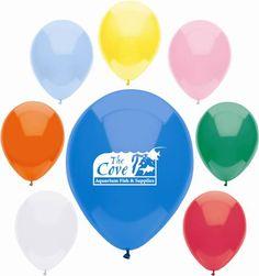 "11"" AdRite Basic Color Economy Line Latex Balloon"