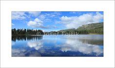 Lake below the Bletoppen Mountain, Telemark, Norway