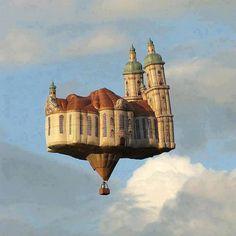 Hot Air Balloon, Austria !!