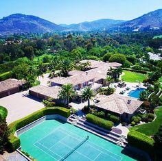 Architectural Gem located in the exclusive community of Rancho Del Lago! Over 14,000 sq ft, 8 bedrooms (2 in 2 separate guest homes), 5.2 acres, private tennis court, pool, oversized Cabana, large executive office, Bocce, putting green, 8 car garage and the list goes on....Very special value at $8,395,000 www.6682lasarboledas.com.  #sunday #love #sanfrancisco #losangeles #beverlyhills #ranchosantafe #sandiego #santamonica #newyork #amazing #luxury #gated #private #top #bocceball #pool…
