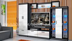 Секция Ниагара 2 1594 • Мебели Валдом Lockers, Locker Storage, Flat Screen, Loft, Cabinet, Bed, Furniture, Home Decor, Blood Plasma