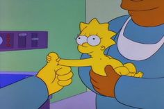 The Simpsons - Maggie Is Born