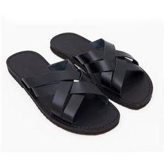 Sandalo chidro nero da uomo n. 42