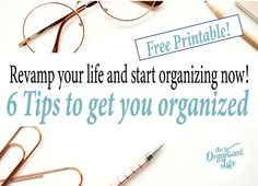 Revamp your life and start organizing now! Household Organization, Life Organization, Organizing, Getting Organized At Home, Stay At Home Mom, Organize Your Life, Finding Joy, Free Printables, You Got This