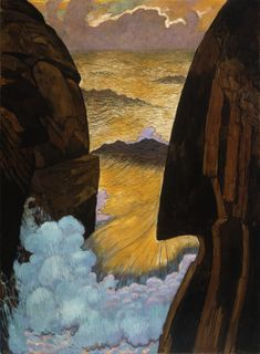 Georges Lacombe - Vorhor, the Green Wave (1896)