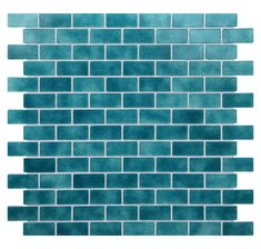 Quartz x Glass Mosaic Tile in Turquoise/Blue Turquoise Tile, Turquoise Kitchen, Glass Mosaic Tiles, Mosaic Wall, Wall Tiles, Bar Tile, Shower Tile Designs, Glass Brick, Kitchen And Bath Remodeling