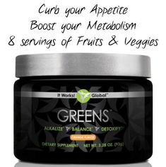 This amazing product provides ultimate benefits. Simple add a scoop or two to your juice, water, shake, anything and reep the benefits of advanced nutrition.  Https://courts.myitworks.com