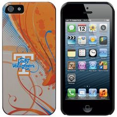 Tennessee Lady Vols Ladies iPhone 5 Swirl Snap-On Case - Tennessee Orange