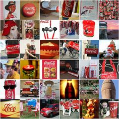 coke collage. if only it was in a huge print for my room...