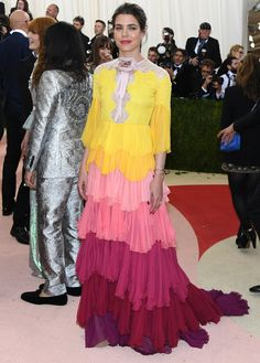 Queen Rania and Charlotte Casiraghi at Costume Institute Gala