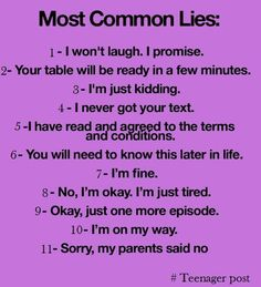 THIS IS SO TRUE! I ask my parents to say no, just so I don't feel guilty about lying! lol
