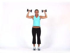 Overhead Press - Diet.com Exercise Demo