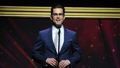 Matt Bomer presents an award at the 36th College Television Awards, presented by the Television Academy Foundation at the Skirball Cultural Center in Los Angeles on Thursday, April 23, 2015. (Photo by Vince Bucci/Invision for the Television Academy/AP Images)
