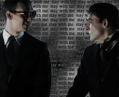 Oswald Cobblepot and Edward Nygma  Gotham Nygmobblepot