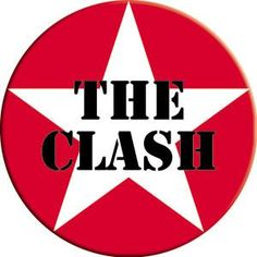 The Clash Star Logo Magnet