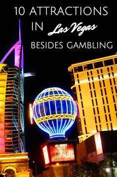 It's fun to have some bets in Las Vegas but not everyone wants to risk their money or spend time indoors at the casinos. Luckily there is so much else to do in Sin City. And I don't mean just drinking and partying.