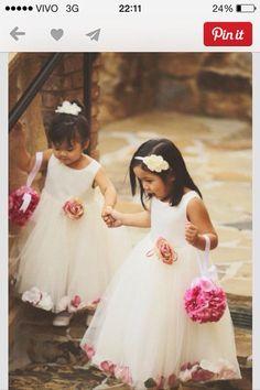 Girl flower wedding