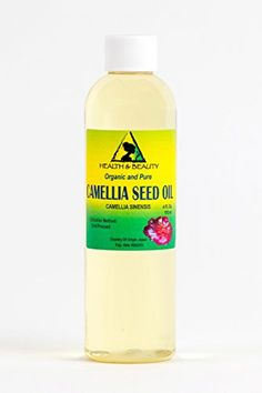 Camellia  Camelia Seed Organic Carrier Oil Cold Pressed 100 Pure 4 oz *** Check out this great product.