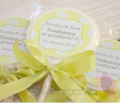 Yellow KROPK dekoracje na ślub dodatki dekoracyjne ślub na wiosnę wiosenne…