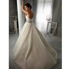 Find More Wedding Dresses Information about Bealegantom Sexy Backless A Line Wedding Dresses 2017 With Appliques Button Organza Plus Size Bridal Gowns Robe De Mariage WD82,High Quality dress korean,China dress lilac Suppliers, Cheap dress whole from Bealegantom Wedding Flagships Store on Aliexpress.com