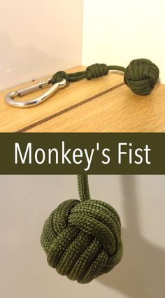 This is a good defense weapon and a cool looking knot for your keys and other items.