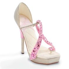 Just the Right Shoe 'Pink Ribbon Miracle' 2006 Spring Breast Cancer Awareness Shoe