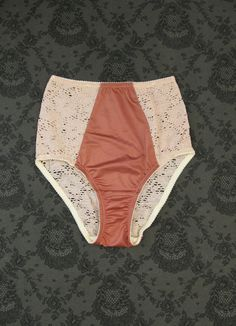 Fortnight makes the sexiest vintage style knickers--you have to see them on to trust it. These in midnight blue with the matching longline bra makes for a gorgeous set.