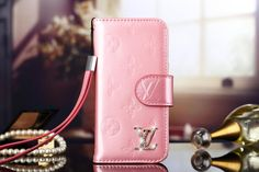 Real Leather Louis Vuitton iPhone 6 and iPhone 6 Plus Wallet Pink Case 2015 -  Shop Case - iPhoneProtectiveCases.com