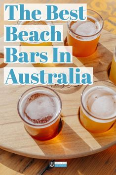An Australian summer isnt complete without a visit to a chilled out beach bar for a cool beverage or two. Check out these top 20 beach bars around Australia from each coastal state! Australia Travel Guide, Visit Australia, Sydney Australia, Western Australia, Cairns Australia, Victoria Australia, Darwin Australia, Australia Holidays, Australia Tours