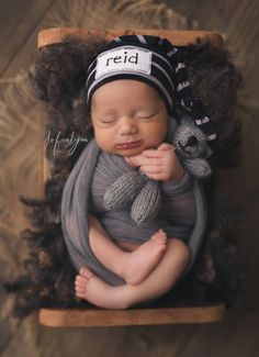 48f98f835eb knot hat with name newborn baby personalized by LittleOnesLove Twin Baby  Photos