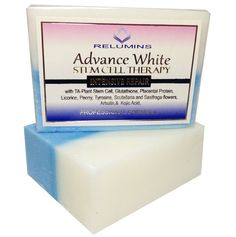 Relumins Advance Whitening Soap  Ingredients: TA Plant Stem Cell, Glutathione, Placental Protein, Licorice, Scutellaria root & Saxifraga, Alpha Arbutin, Kojic Acid  Go here for more product info and reviews: http://bestandsmartchoice.com/2014/05/toprated-kojic-acid-soap-skin-brightening/