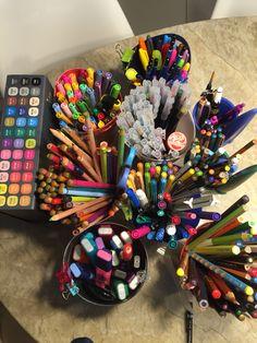 Minha paixão! Muita cor para soltar a criatividade!
