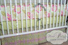 Miss Pollys Piece Goods - design your own custom baby crib bedding!