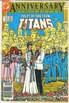 This pin is inspired by one of our members at FyndIt.com. She is looking to buy comic book wedding covers to display for an art show. If you know where to find some, you could earn a couple of bucks by making a match on FyndIt. Log in to see if you can help. #comicbooks #weddings #superheros #FyndIt Wanted Post: Tales of the Teen Titans 50th Anniversary