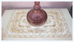 Vintage Tischdeckchen abwaschbar von *Coco Mademoiselle* auf DaWanda.com
