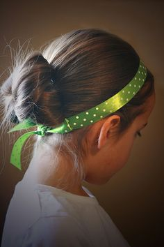 Ribbon Headband by Cranial Hiccups, via Flickr