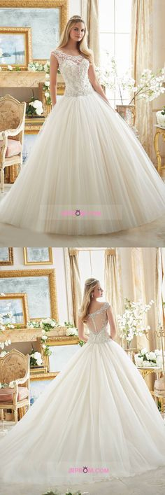 2016 Off The Shoulder Wedding Dresses A Line Tulle With Embroidery And Beads Item Code:#JRPL4CNBAM