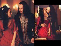 Mina Harker red dress from Dracula