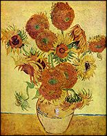 Van Gogh analogous colors