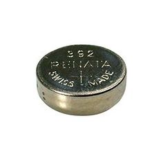 Silver Oxide Watch Battery For 392 Button Cell $0.79