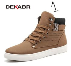 DEKABR 2017 Hot Men Shoes Fashion Warm Fur Winter Men Boots Autumn Leather Footwear For Man New High Top Canvas Casual Shoes Men Not in love after 15 days? Return it! Learn more Rated 4.7 /5 based on 1473 customer reviews  4.7 (1473 votes) 1947 orders Sal