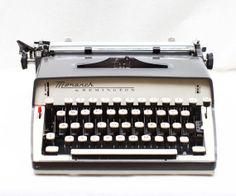 Vintage Remington Monarch Manual Typewriter  by LePhotographeNY, $165.00