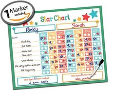 "Dry Erase Kids Reward Chore Star Chart - 16"" x 13"" - Beha... https://smile.amazon.com/dp/B013JD1CF6/ref=cm_sw_r_pi_dp_x_LXlRyb6E5CGDT"