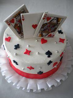 King Design Birthday Cake