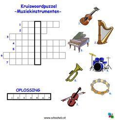 Music Education, Challenges, Coding, School, Spelling, Logo, Halloween, Crossword Puzzles, Vocabulary Practice