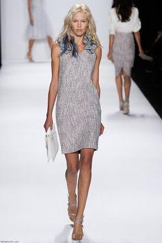 Badgley Mischka spring/summer 2015 collection - New York fashion week