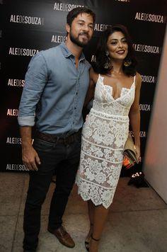 Juliana Paes com o marido, Carlos Eduardo Baptista (Foto: Anderson Barros/EGO)